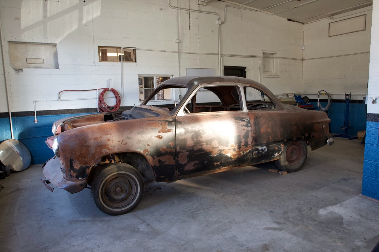 49 Ford Coupe Project