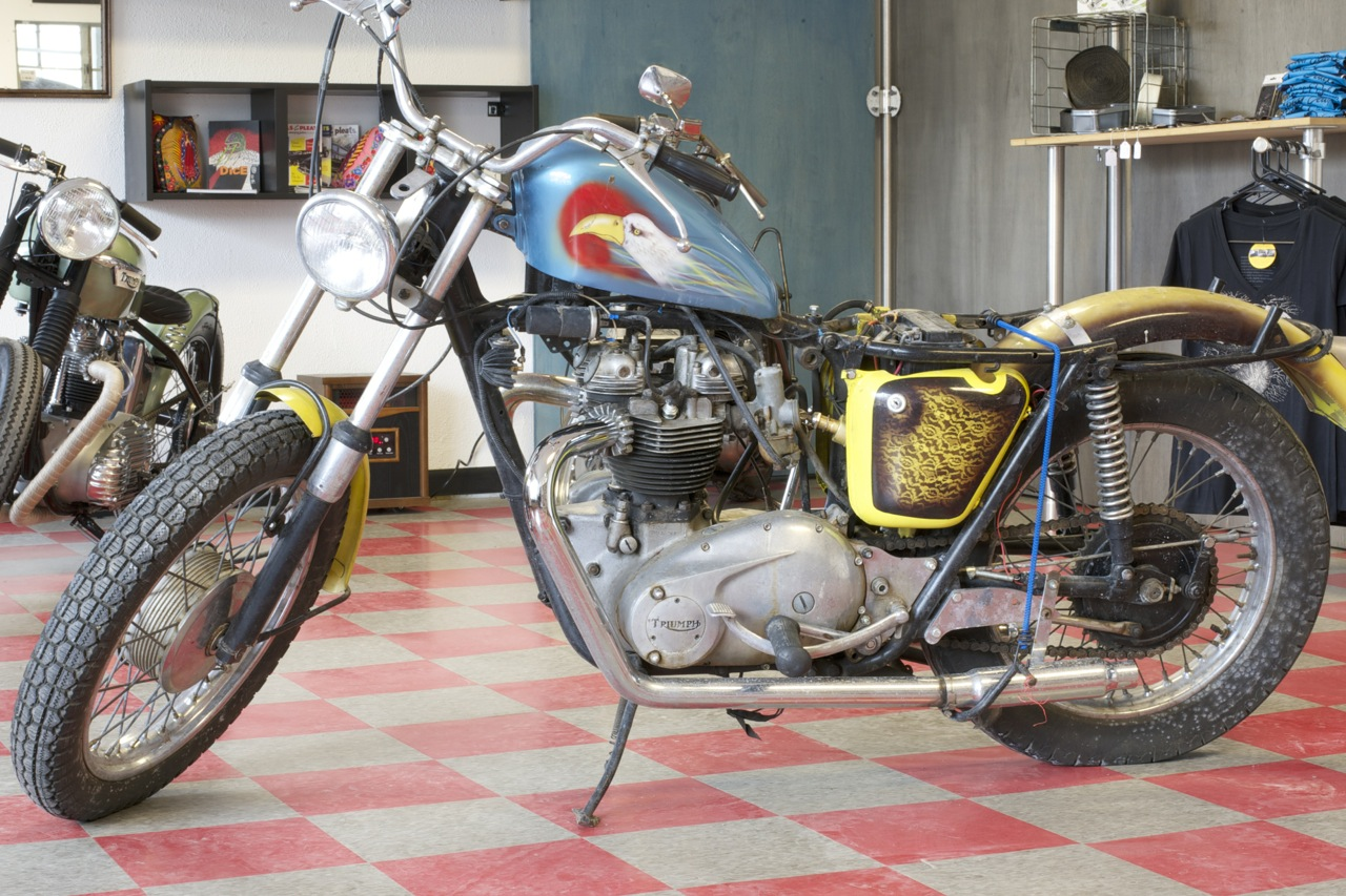 Triumph Bonneville Project