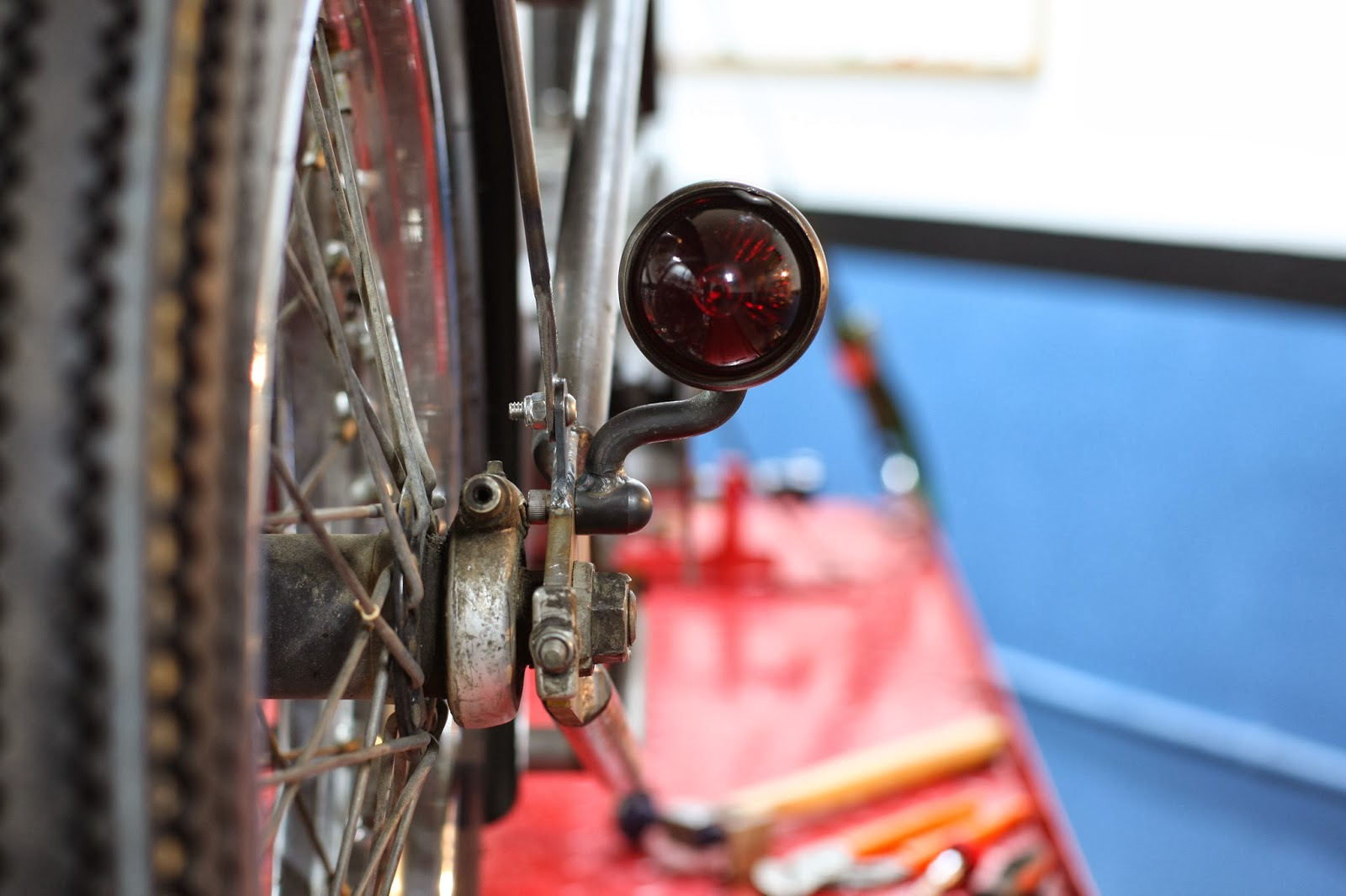 Bonneville rear lights