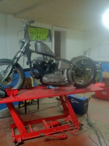 1973 Ironhead Progress